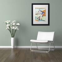 Pat Saunders-White 'Sweet Sleep' Matted Framed Art