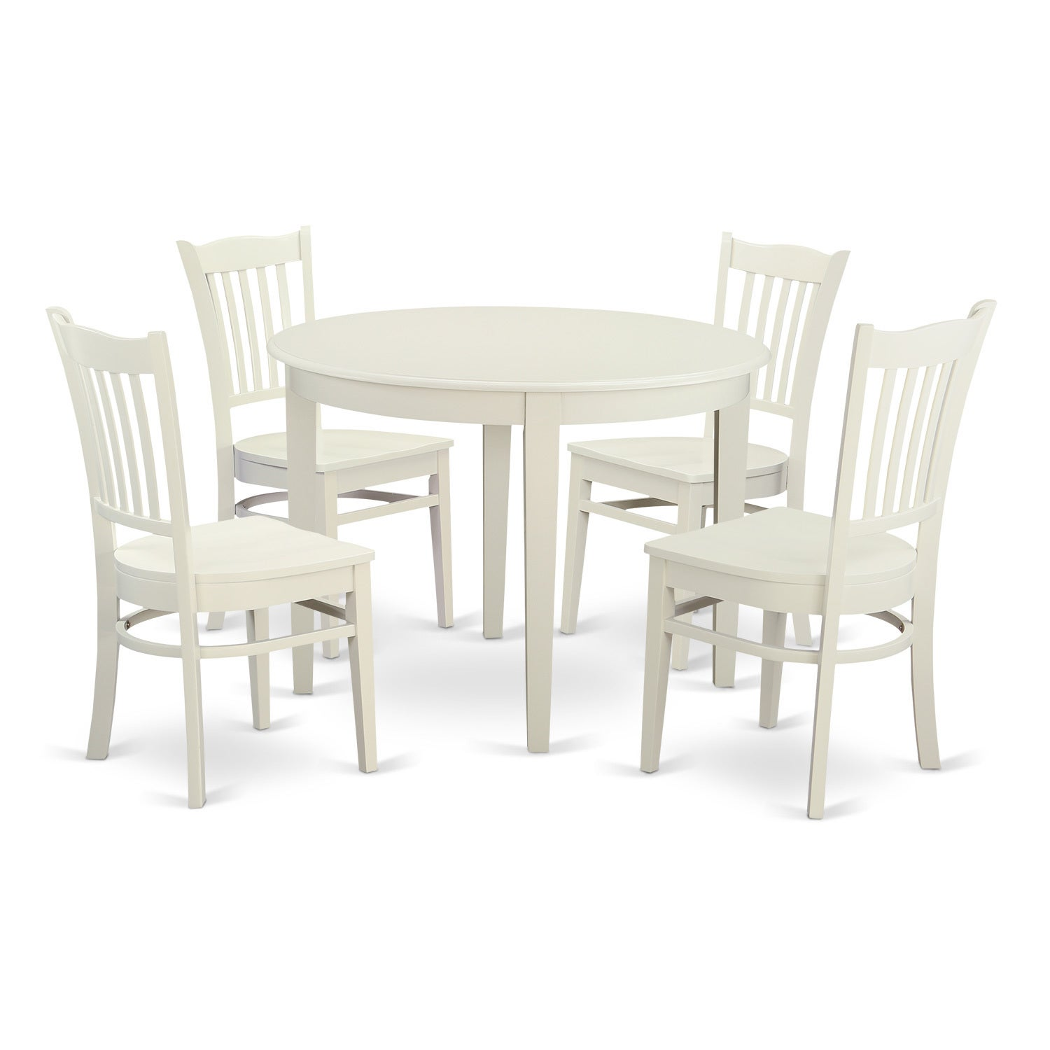 5-piece Dinette Set with Small Kitchen Table and 4 Dining...