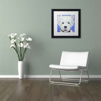 Pat Saunders-White 'Amos' Matted Framed Art