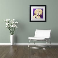 Pat Saunders-White 'Alex' Matted Framed Art