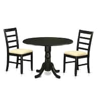 3-piece Dining Table Set with Dining Room Table and 2 Dining Room Chairs