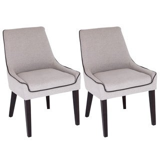 Dillon Contemporary Dining Chairs (Set of 2)