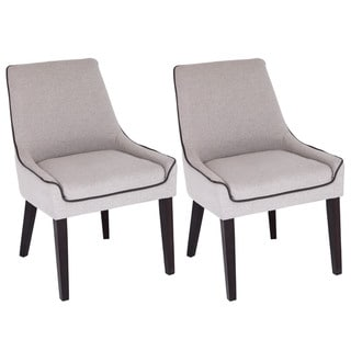 Dillon Contemporary Dining Chairs Set Of 2