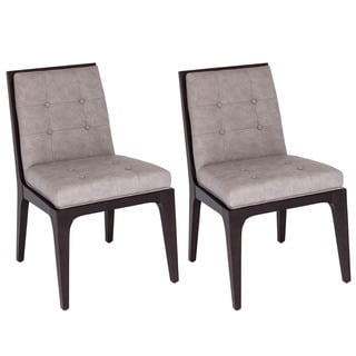 Fleming Wood/Polyurethane Dining Chairs (Set of 2)