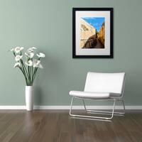CATeyes 'Castillo San Felipe del Morro 14' Matted Framed Art