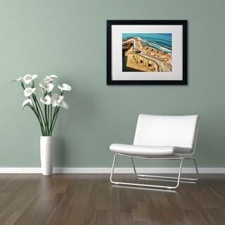 CATeyes 'Castillo San Felipe del Morro 6' Matted Framed Art