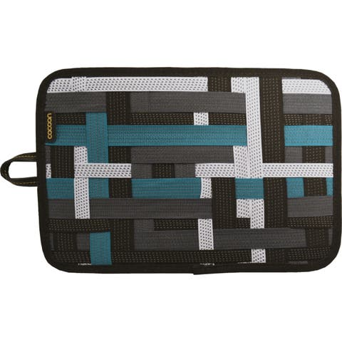 """Cocoon GRID-IT! Carrying Case for 8"""" iPad mini - Black, Green"""