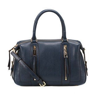 Michel Kors Navy Julia Large Satchel Handbag