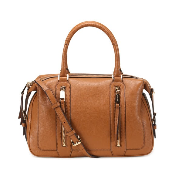 Michael Kors Acorn Julia Large Satchel Handbag