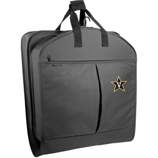 WallyBags Vanderbilt Commodores Black Polyester 40 inch Garment Bag with Pockets