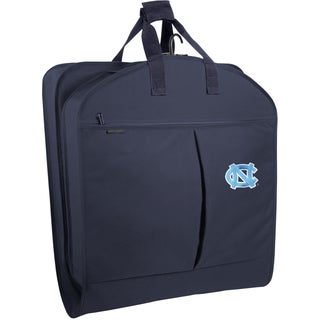 WallyBags North Carolina Tar Heels 40-inch Garment Bag with Pockets