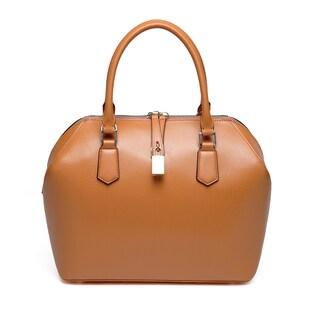 Vicenzo Leather Lucie Leather Satchel Handbag