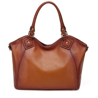 Vicenzo Leather Reese Leather Tote Bag