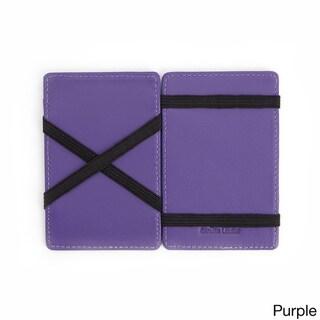 Royce Black Leather Bifold Magic Wallet