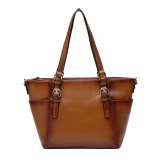 Vicenzo Leather Ideeli Leather Shoulder Bag