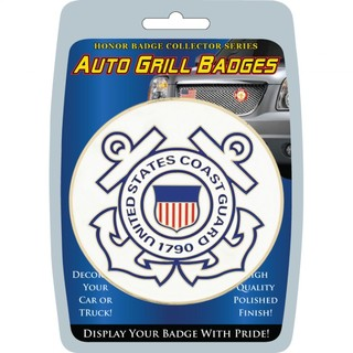 United States Coast Guard Automobile Grill Badge