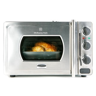 Wolfgang Puck Pressure Oven Rotisserie 29-liter Stainless Steel Countertop Oven