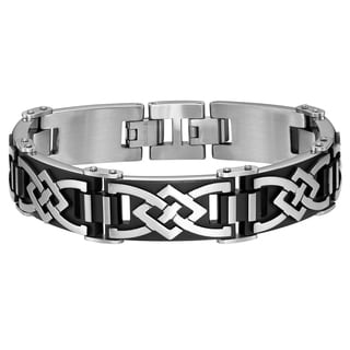Cambridge Stainless Steel/Black IP Bracelet
