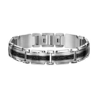 Cambridge Jewelry Stainless Steel Enamel Bracelet