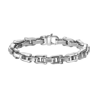 Cambridge Men's Stainless Steel U-link Bracelet