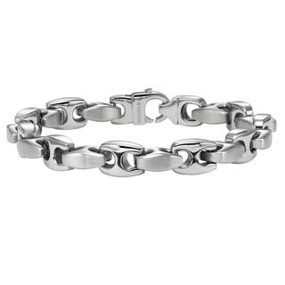 Cambridge Men's Stainless Steel Chain Bracelet
