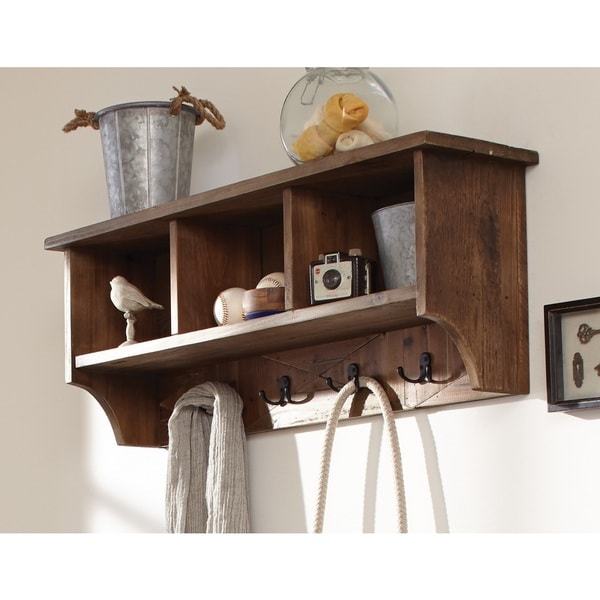 Alaterre Revive Metal Coat Hooks And Reclaimed Wood