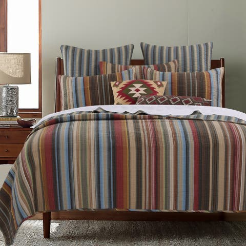Greenland Home Fashions Durango 100-percent Cotton Quilt Set