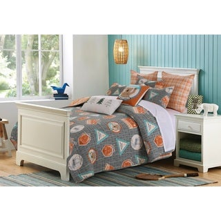 Greenland Home Fashions Camp Out Quilt Set