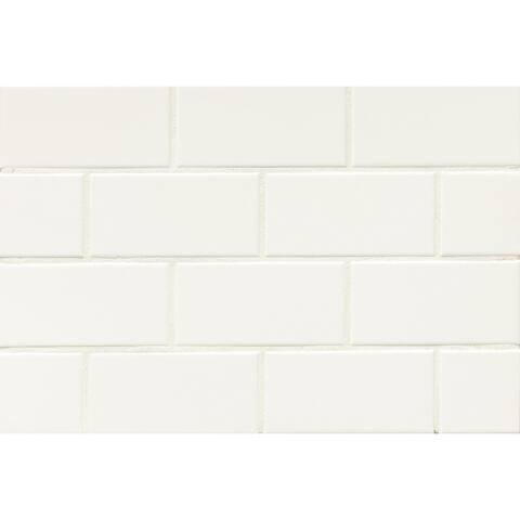 Bedrosians Tradition Matte Ceramic Tile (Box of 80 Tiles)