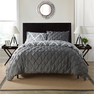 VCNY Heather Reversible Duvet Set