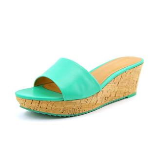 Nine West Women's Confetty Turquoise Leather Dress Shoes