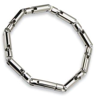 Versil Chisel Men's Stainless Steel Polished 8.5-inch Bracelet
