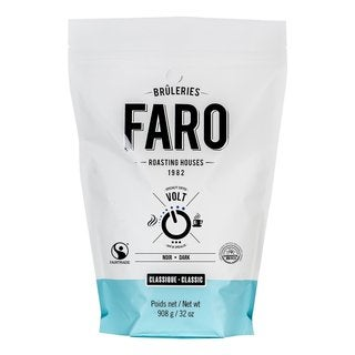 Faro Classic Volt 2-pound Intense, Very Dark, Fair Trade, Certified Organic Ground Coffee Beans