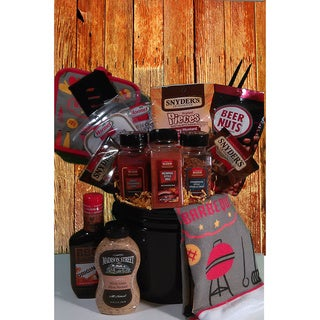 Link to Master of the Grill Barbeque Gift Basket Similar Items in Gourmet Food Baskets