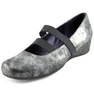 Vaneli Women's Mariana Black Synthetic Mary Jane Shoes