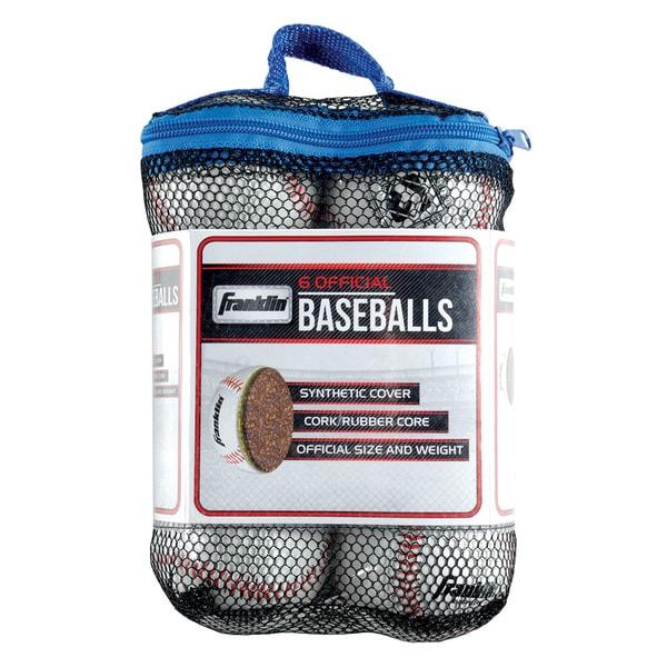 Franklin Sports Practice Baseballs (6 Pack)