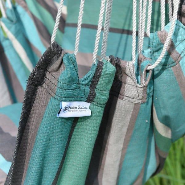 Prime Garden Tropical Stripe Soft Comfort Hanging Hammock Chair Overstock 12032682