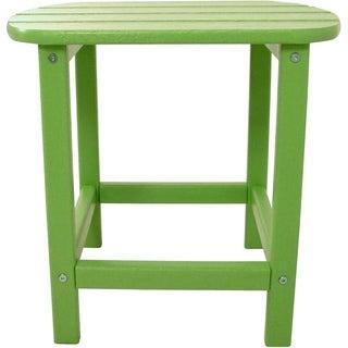 Hanover Outdoor HVSBT18LI Lime All-weather Side Table