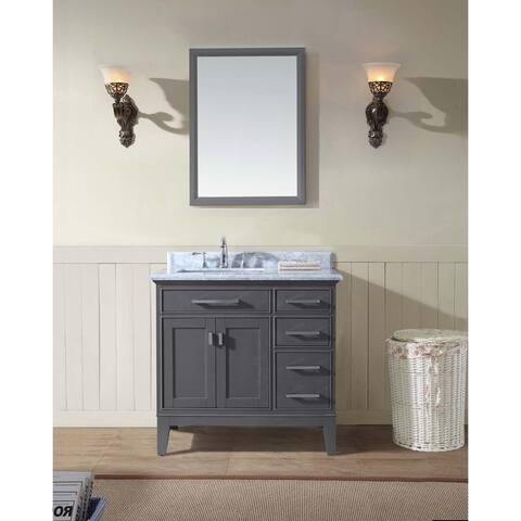 Ari Kitchen and Bath Danny 36-inch Single Bathroom Vanity Set