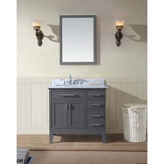 Ari Kitchen and Bath Danny 36-inch Single Bathroom Vanity Set