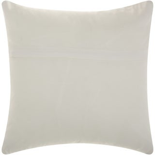 Mina Victory Indoor/ Outdoor Stars Navy/ White Throw Pillow by Nourison (20 x 20-inch)