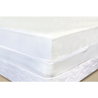 Terry Cotton Top Mattress Pad Cover - White