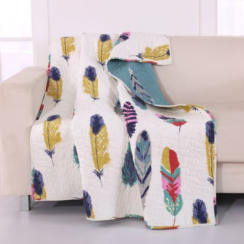 Greenland Home Fashions Dream Catcher Reversible Throw