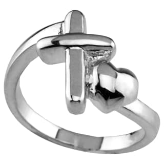 Haven Park Sacred Heart Cross Ring