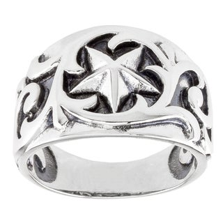 Haven Park Sterling Silver Filigree Ring