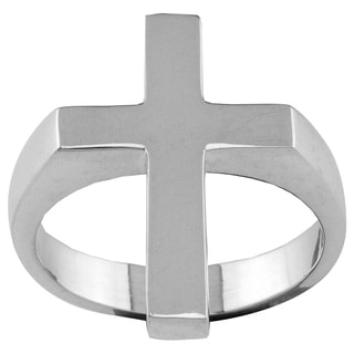 Haven Park Sterling Silver Cross Ring