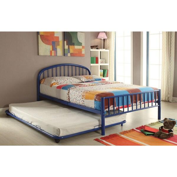 Cailyn 30465F-BU Blue Metal 79-inch x 54-inch x 51-inch Full Bed
