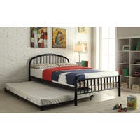 Cailyn Collection Black Metal Full Bed