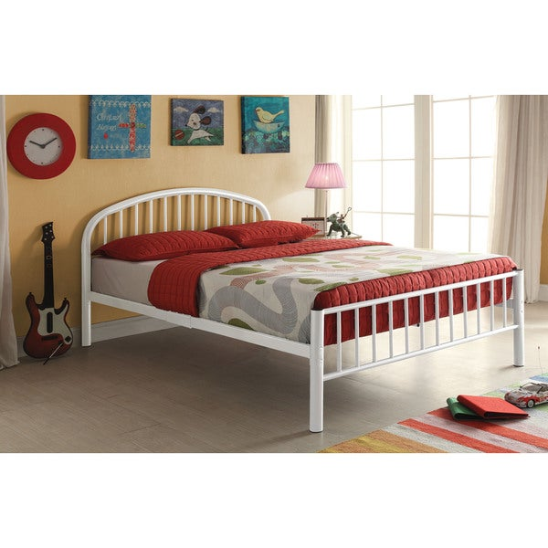 Cailyn White Twin Bed