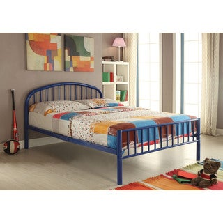 Cailyn 30460T-BU Blue Metal 79-inch x 39-inch x 33-inch Twin Bed